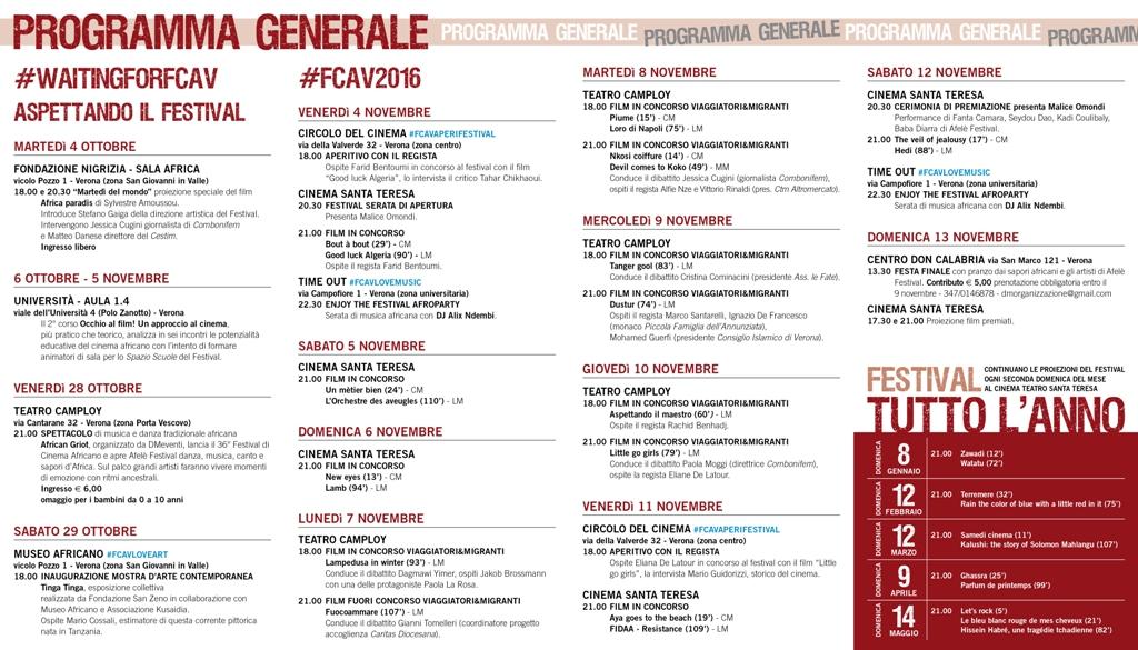 Programma generale
