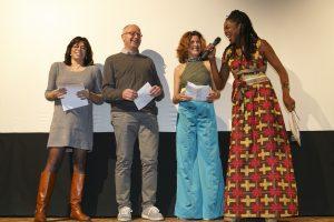 La direzione artistica e Malice Omondi (foto di Stefano Campostrini)